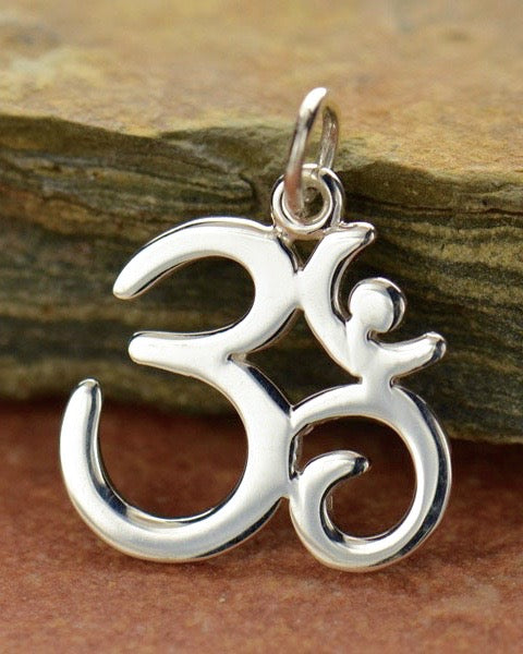 BREATH OF LIFE -  Om Necklace