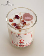 Love Crystal Candle