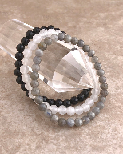 Protection 6mm Gemstone Bracelet Set