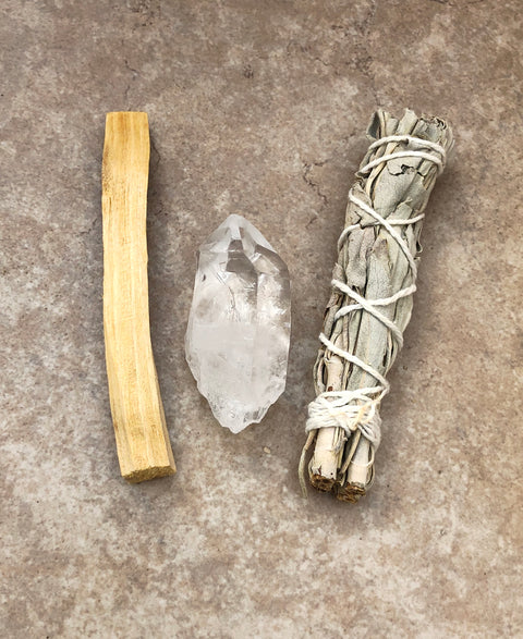 Quartz Smudge Bundle