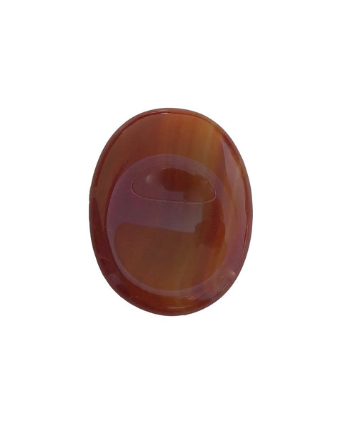 Red Agate Worry Stone