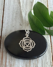 Sterling Silver Root Chakra Necklace  - GROUNDED IN TRUTH