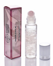 Rose Quartz Essential Oil Gemstone Roll On - LOVE