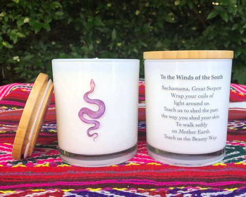 Shamanic Medicine Wheel Set of 5 Candles