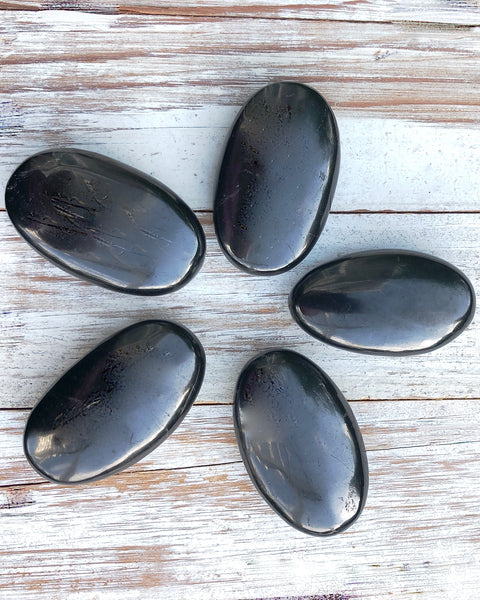 Shungite Small Palm Stone