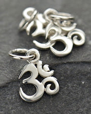 Tiny Om Necklace - SACRED SOURCE