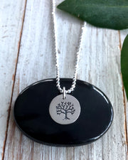 WISDOM SEEKER - Tree of Life Disk Necklace