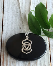 Sterling Silver Third Eye Chakra Necklace