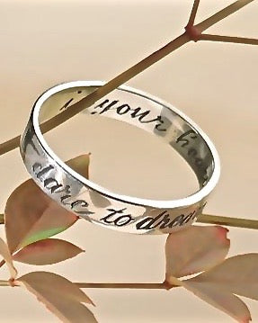DARE TO DREAM - Sterling Silver Ring
