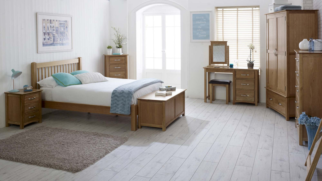 Thornton Oak Bedroom Furniture Range The Oak Bed Store