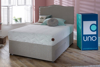 Breasley UNO Natural Affinity Halcyon 3000 Pocket Spring Memory Foam Mattress - The Oak Bed Store