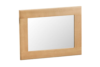 Cotswold Natural Oak Wall Hung Mirror - The Oak Bed Store
