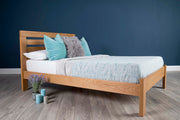 Goodwood Solid Natural Oak Bed Frame 6ft - Super King - The Oak Bed Store