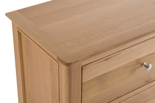 New Thornton 6 Drawer Chest of Drawers - The Oak Bed Store