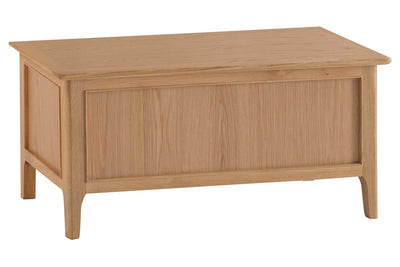 New Thornton Blanket Box - The Oak Bed Store