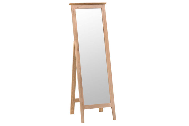 New Thornton Cheval Mirror - The Oak Bed Store
