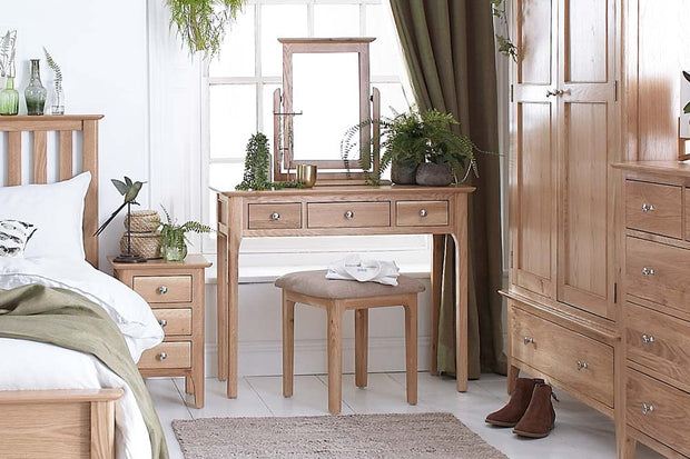 New Thornton Dressing Table - The Oak Bed Store