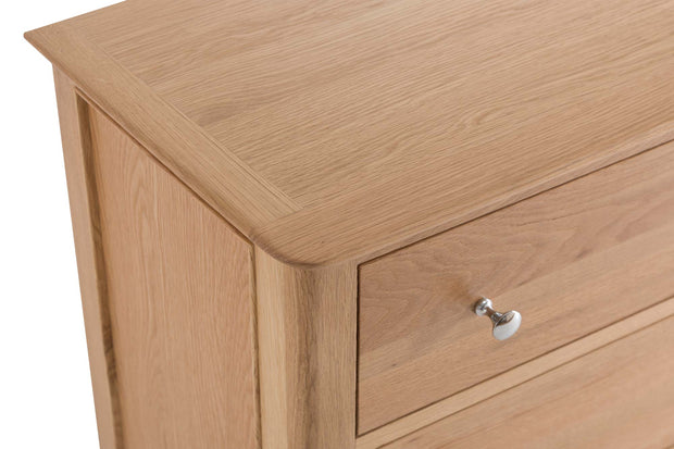 New Thornton 3 Drawer Chest of Drawers - The Oak Bed Store