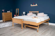 Portman Solid Oak Guest Bed - 3ft Single - The Oak Bed Store