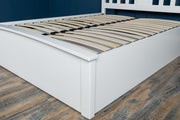 Royal Ascot Bright White Ottoman Storage Bed Frame - 5ft King Size