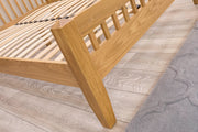 Salisbury Solid Oak Bed Frame 6ft - Super King - The Oak Bed Store