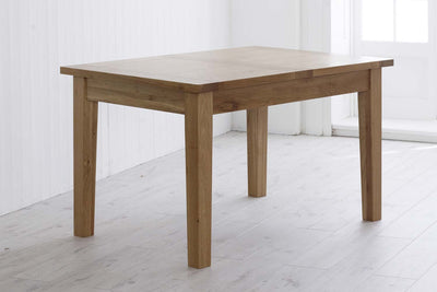 Thornton Oak 4ft6 Extendable Dining Table - The Oak Bed Store