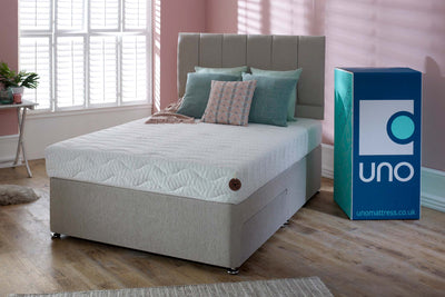 Breasley UNO Natural Affinity Spirit 1000 Pocket Spring Mattress 5ft - King Size - The Oak Bed Store