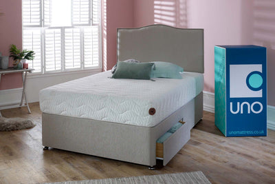 Breasley UNO Natural Affinity Tranquil 2000 Pocket Spring Mattress - The Oak Bed Store