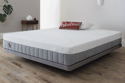 Breasley UNO Memory Pocket 2000 Pocket Spring Memory Foam Mattress - The Oak Bed Store