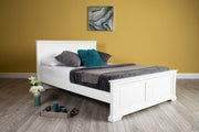 Westcott White Solid Wood Bed Frame - 6ft Super King - The Oak Bed Store