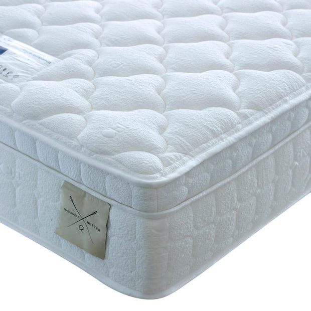 Edwin & Taylor Natural Sumptuous 2500 Pocket Spring Mattress - The Oak Bed Store