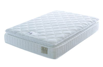 Edwin & Taylor Natural Superb 2000 Pocket Spring Mattress - The Oak Bed Store