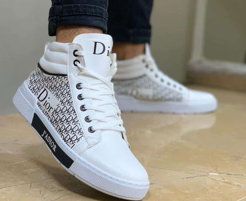 Dior White Sneakers Men Brand New