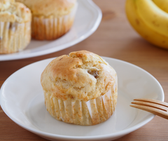 Home-made muffin with Manuka Honey