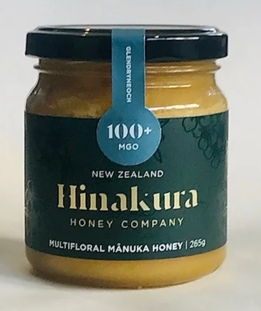100+ MGO Glendryneach Multifloral Manuka Honey (Green) - Manuka Honey | Hinakura Honey Company