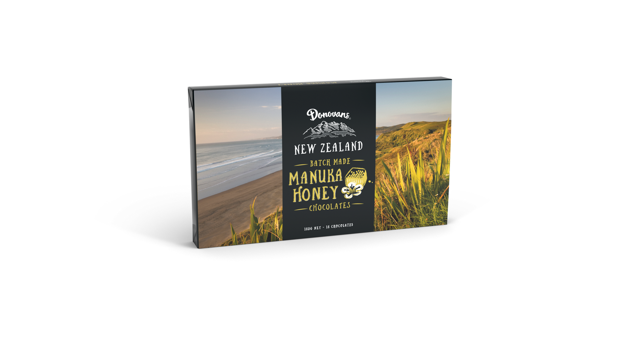 Manuka Honey Filled Chocolates - Food & Drink | Donovans Chocolates