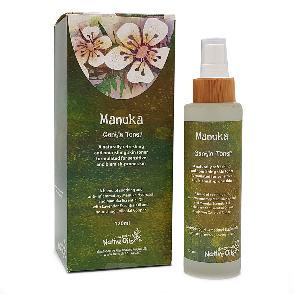 Manuka Gentle Toner - Face & Body | NZ Native Oils