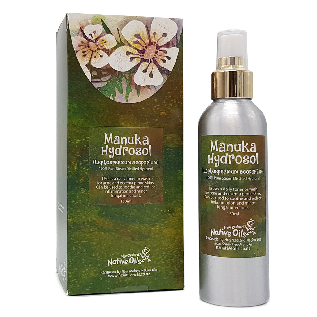Manuka Hydrosol for Skin Irritations - Face & Body | NZ Native Oils