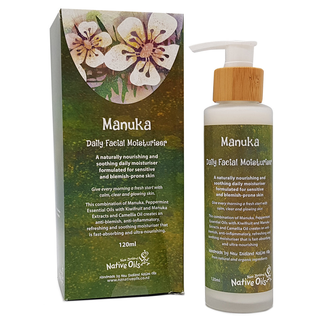 Manuka Daily Facial Moisturiser - Face & Body | NZ Native Oils
