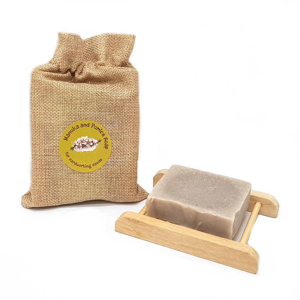 Pumice & Manuka Organic Soap - Manuka Honey of NZ
