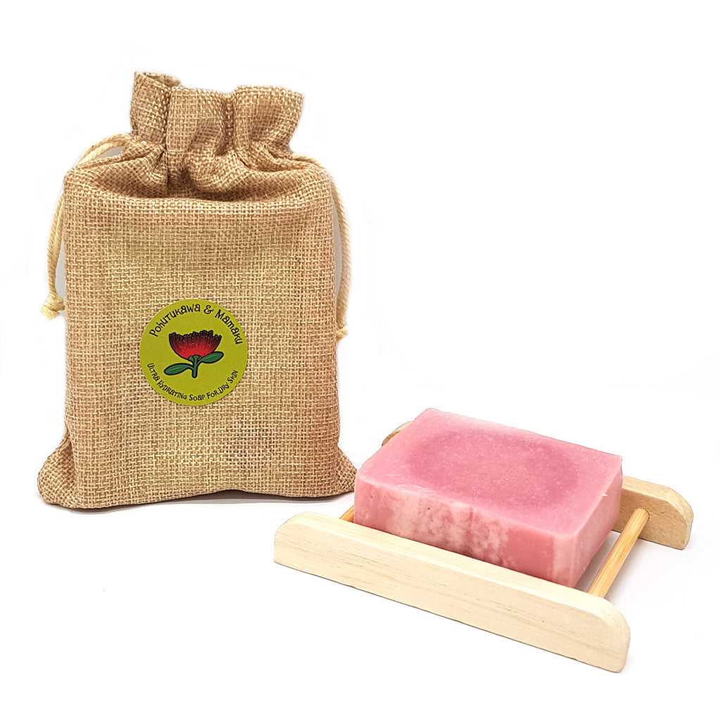 Pohutukawa & Mamaku Organic Soap - Manuka Honey of NZ