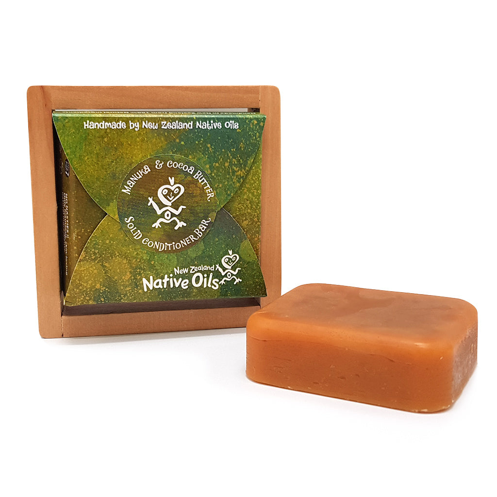 Manuka & Cocoa Butter Solid Conditioner Bar