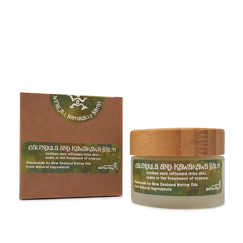 Calendula & Kawakawa Balm - Face & Body | NZ Native Oils