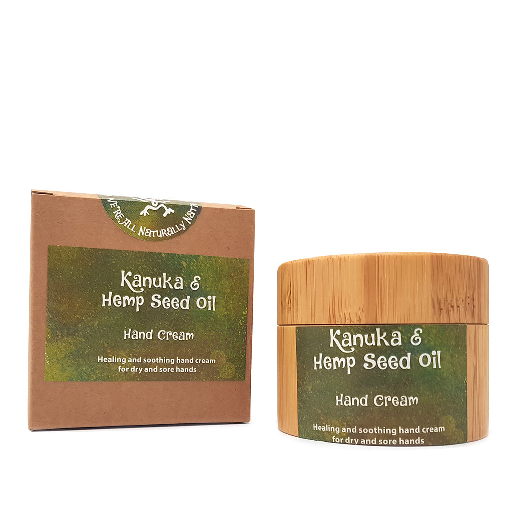 Kanuka & Hemp Seed Oil Hand Cream - Face & Body | NZ Native Oils