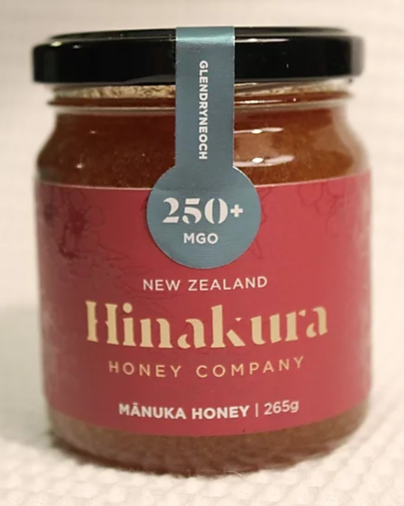 250+ MGO Glendryneach Natural Manuka Honey (Red) - Manuka Honey | Hinakura Honey Company