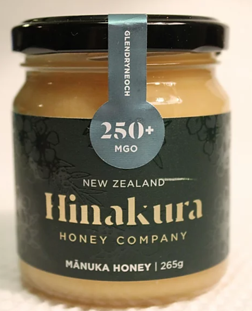 250+ MGO Glendryneach Manuka Honey (Green) - Manuka Honey | Hinakura Honey Company