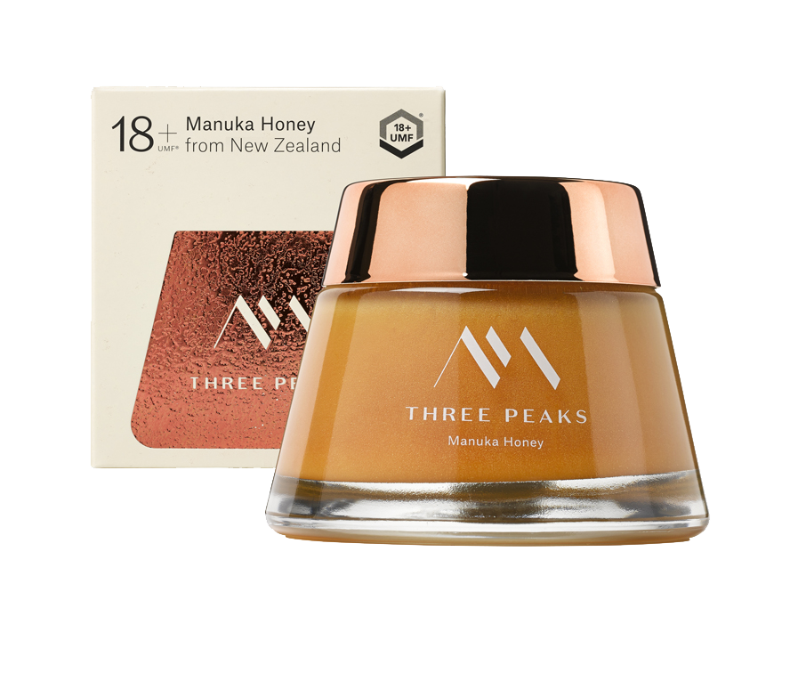18+ UMF Manuka Honey - Manuka Honey | Three Peaks