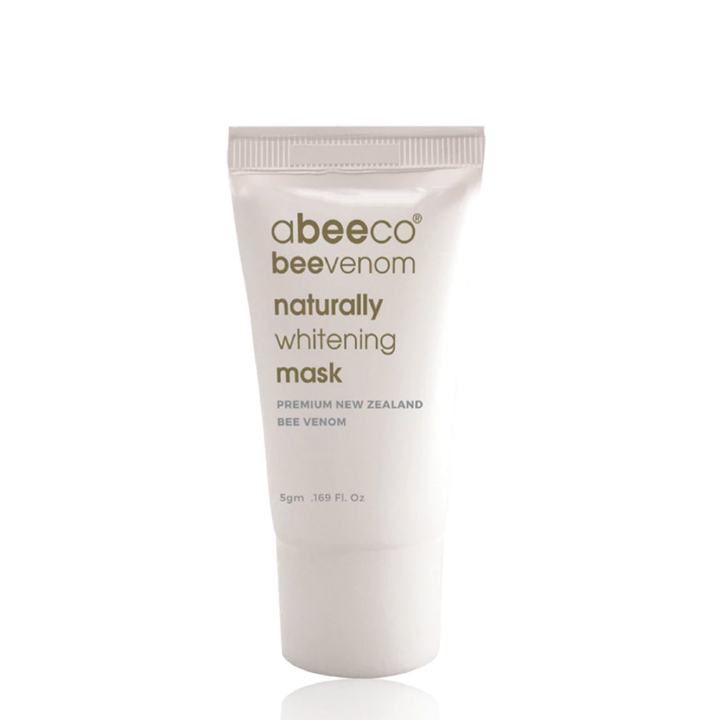 Naturally Whitening Mask Trial Tube 5g - Face & Body | abeeco