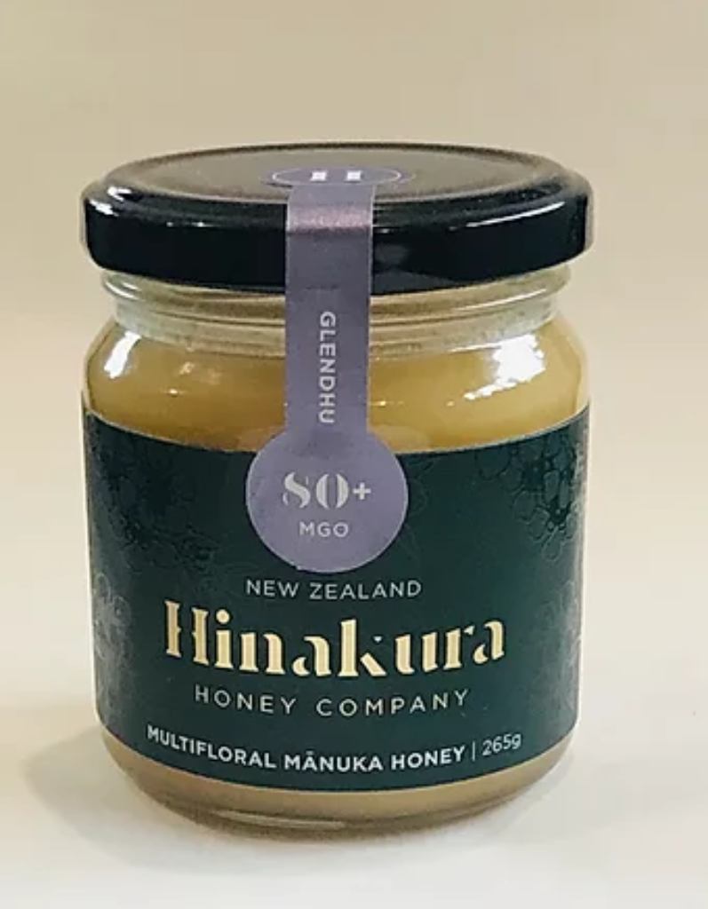 80+ MGO Glendhu Multifloral Manuka Honey - Manuka Honey | Hinakura Honey Company