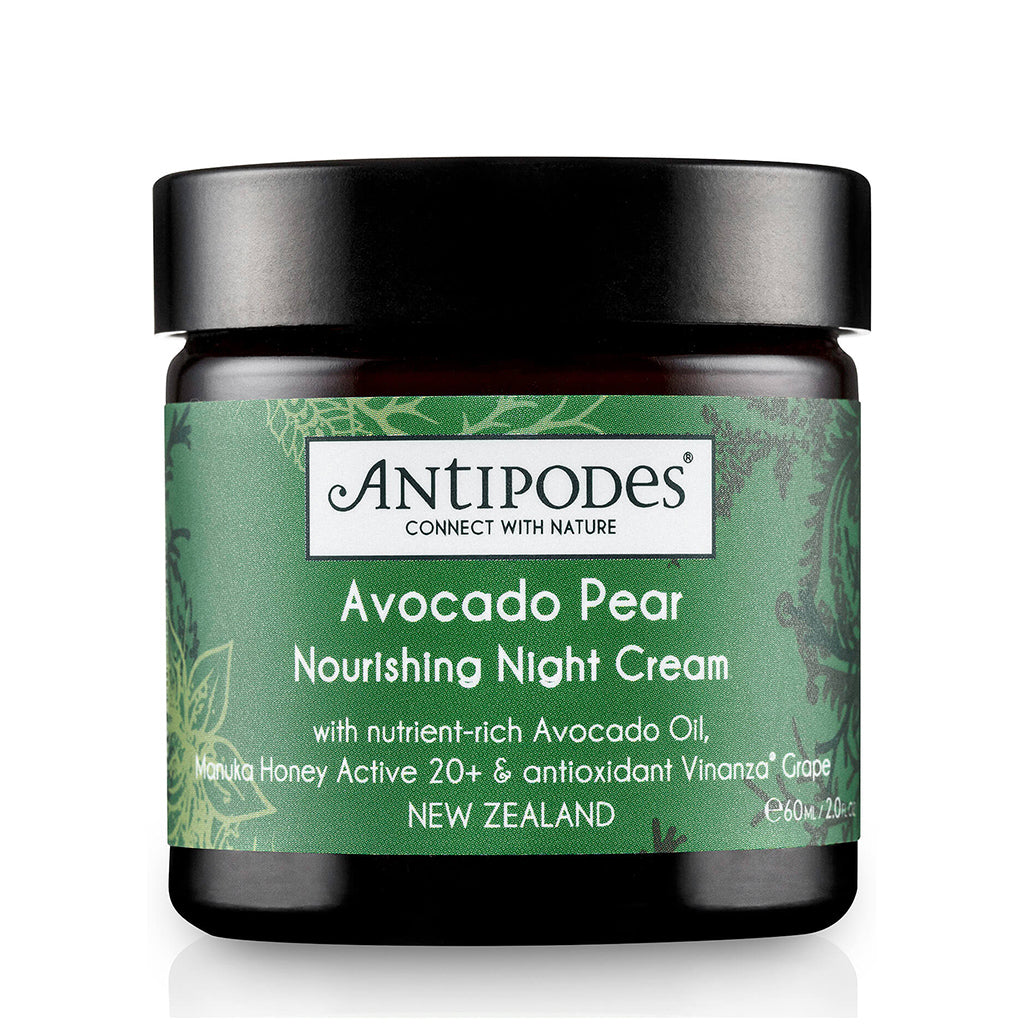 Avocado Pear Nourishing Night Cream - Face & Body | Antipodes